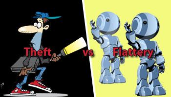theft-vs-flattery