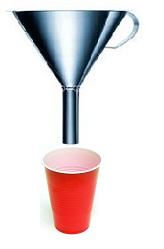 Empty funnel