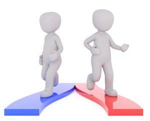 Customer buying decision path